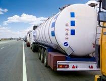 De Vrachtwagen van de tanker Stock Fotografie