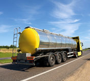De vrachtwagen van de tanker Royalty-vrije Stock Fotografie