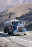 De Vrachtwagen van de tanker Royalty-vrije Stock Afbeeldingen