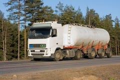 De vrachtwagen van de tanker Royalty-vrije Stock Foto's