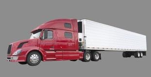 De vrachtwagen van de vracht royalty-vrije stock afbeeldingen