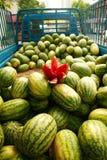 De vrachtwagen van de watermeloen Royalty-vrije Stock Afbeelding