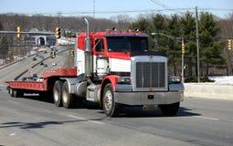 De Vrachtwagen van de weg Stock Fotografie