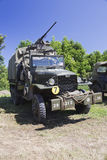De vrachtwagen van GMC CCKW op vertoning Stock Foto