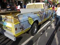 De Vrachtwagen van Graffiti Stock Foto's