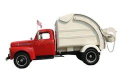 De Vrachtwagen van het afval Stock Afbeeldingen