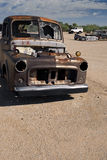 De Vrachtwagen van het autokerkhof Stock Foto