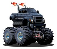 De Vrachtwagen van het beeldverhaalmonster royalty-vrije illustratie