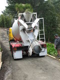 De Vrachtwagen van het cement Stock Afbeeldingen