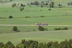 De vrachtwagen van het hout Royalty-vrije Stock Afbeeldingen