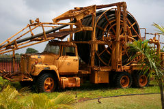 De Vrachtwagen van het landbouwbedrijf Stock Fotografie