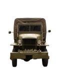 De Vrachtwagen van het leger Stock Afbeeldingen