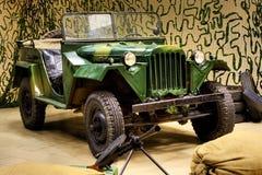 De Vrachtwagen van het Leger van de Wereldoorlog II Royalty-vrije Stock Foto