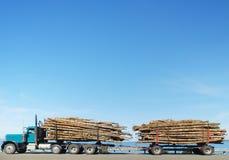 De Vrachtwagen van het registreren royalty-vrije stock afbeeldingen