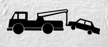 De vrachtwagen van het slepen Royalty-vrije Stock Foto's