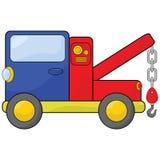 De vrachtwagen van het slepen Stock Afbeelding