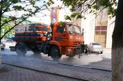 De Vrachtwagen van het water royalty-vrije stock fotografie