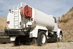 De Vrachtwagen van het water Stock Foto's