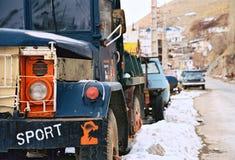 De vrachtwagen van Irainan Royalty-vrije Stock Fotografie