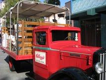 De Vrachtwagen van Kellogg's Royalty-vrije Stock Afbeelding