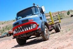 De vrachtwagen van Nice Stock Afbeeldingen