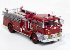 De vrachtwagenreplica van de brand Stock Fotografie