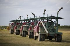 De Vrachtwagens van de pomp Royalty-vrije Stock Foto's