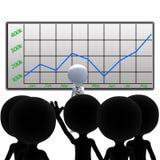 De Vragen van de Vergadering van de verkoop stock illustratie