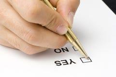 De vragenlijstkwaliteit van de controlelijst van de dienst Royalty-vrije Stock Foto's
