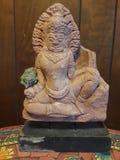 De vrede en de liefde van de standbeeldmeditatie royalty-vrije stock afbeelding