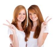 De vrede van tienerjaren Royalty-vrije Stock Afbeelding