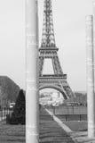 De vredesmuur van Parijs Stock Afbeeldingen