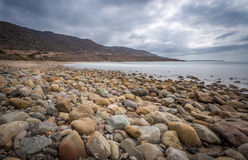 De Vreedzame kust van Californië stock foto