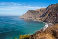 De Vreedzame kust van Californië Stock Afbeelding