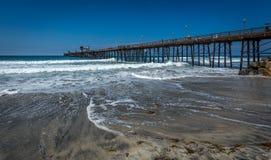 De Vreedzame Kustweg van Californië stock foto's