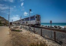 De Vreedzame Kustweg van Californië stock afbeeldingen