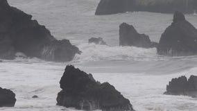 De vreedzame Oceaan stock footage