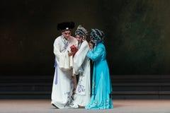 """De vreugde van de bevalling-achtste handeling die nieuw krijgen - geboren kind-Kunqu Opera""""Madame Witte Snake† Royalty-vrije Stock Foto's"""