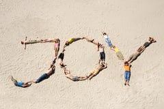 De vreugde van de zomer Royalty-vrije Stock Foto's
