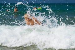 De vreugde van de zomer Stock Fotografie