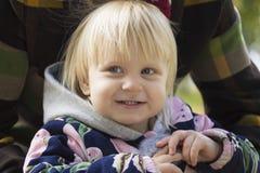 De vreugde van een kind Stock Foto's