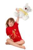 De vreugde van het kind Royalty-vrije Stock Afbeeldingen