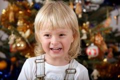 De vreugde van Kerstmis Stock Foto's
