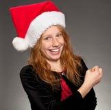 De Vreugde van Kerstmis Stock Afbeeldingen