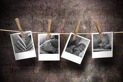 De vreugde van moederschap stock afbeeldingen