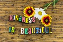 De vriendelijkheid is mooie appreciatie royalty-vrije stock fotografie