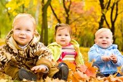 De vrienden van de baby Royalty-vrije Stock Foto's
