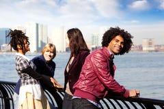De Vrienden van de stad Royalty-vrije Stock Fotografie