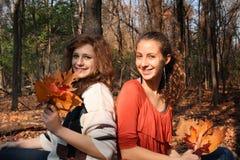 De vrienden van de tiener Stock Foto
