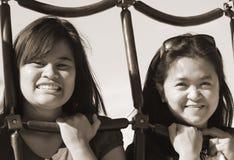 De Vriendschap van Generational Stock Foto